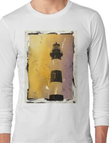 Bodie Island Lighthouse- North Carolina Long Sleeve T-Shirt