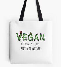 Vegan Quote Tote Bag