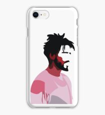 J. Cole profile view iPhone Case/Skin