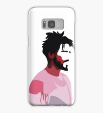 J. Cole profile view Samsung Galaxy Case/Skin