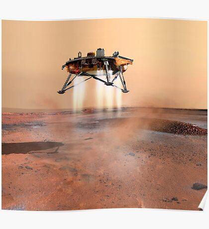 Phoenix Mars Lander Poster