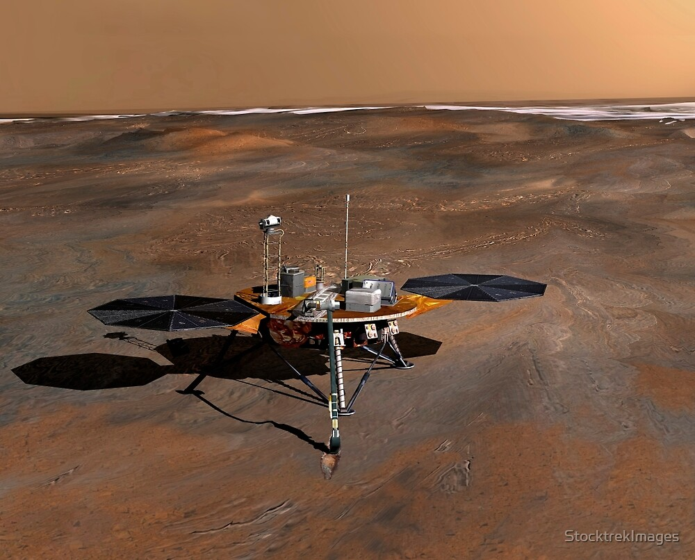 Phoenix Mars Lander von StocktrekImages