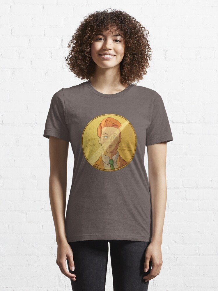 Alternate view of Different Perspective Essential T-Shirt