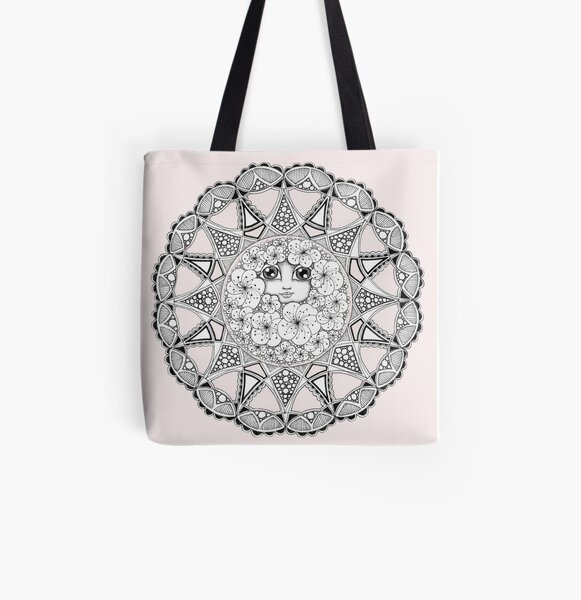 Madame Spring All Over Print Tote Bag