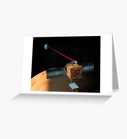 Mars Telekommunikation Orbiter Grußkarte