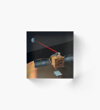 Mars Telekommunikation Orbiter Acrylblock