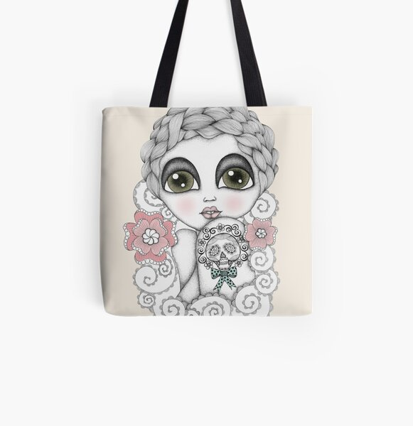 Rosalie All Over Print Tote Bag