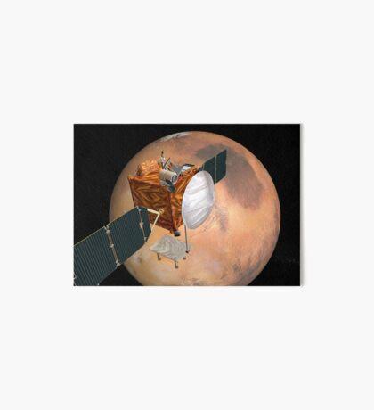Mars Telecommunications Orbiter im Flug um den Mars. Galeriedruck