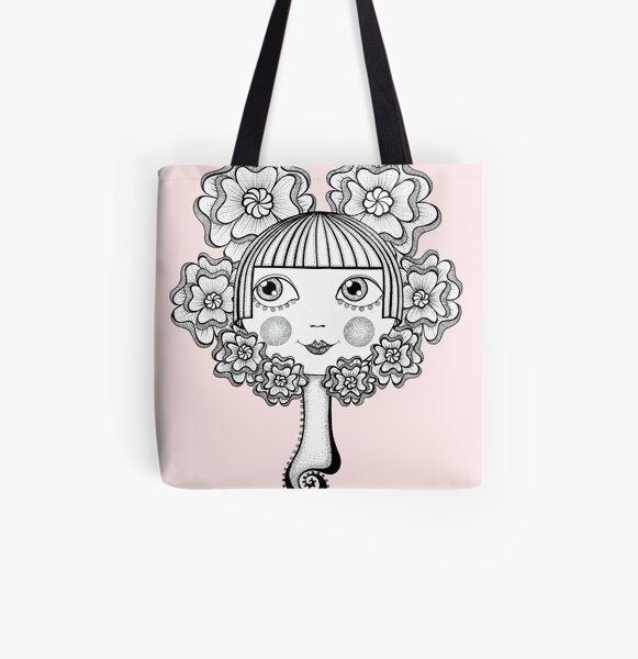 Who's The Fairest of Them All All Over Print Tote Bag