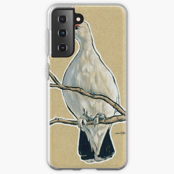State Bird Series:  Alaska - Willow Ptarmigan Samsung Galaxy Soft Case
