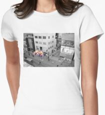Warm Store - Selective colour Women's Fitted T-Shirt