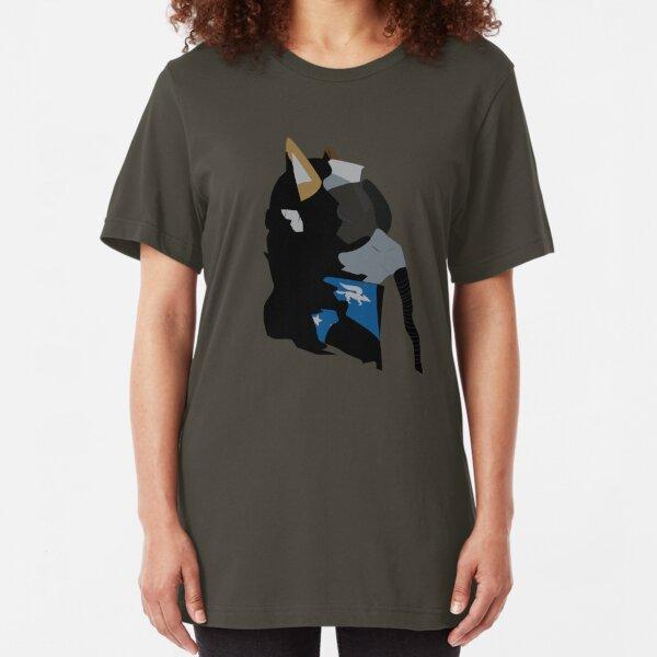 Fox Mccloud Air Force Slim Fit T-Shirt