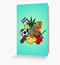 Little Dutch Planet Greeting Card