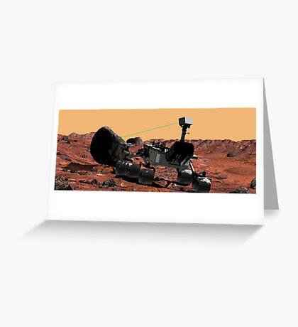 Mars Wissenschaftslabor Grußkarte