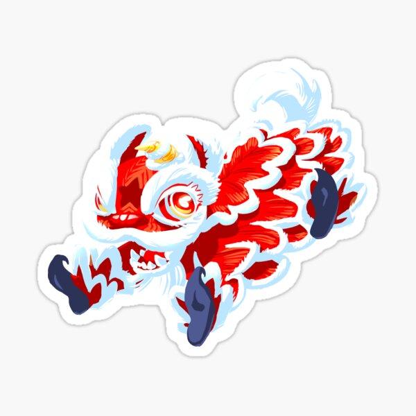 Jump Fu Sticker