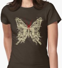 Deadly Species - Butterfly Womens Fitted T-Shirt