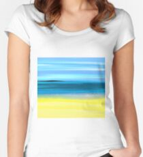 SEASCAPE Women's Fitted Scoop T-Shirt
