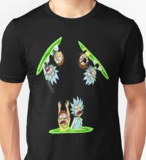 Teleport Rick And Morty Unisex T-Shirt