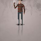 8-Bit Movie Freddy Kreuger by capdeville13