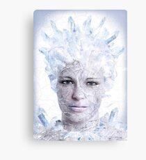 Icequeen Metal Print
