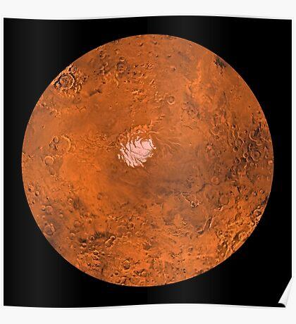 Mare Australe Region des Mars. Poster
