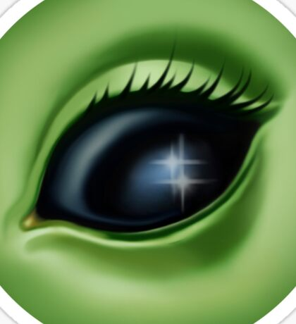 Alien Eye - Stardust Sticker