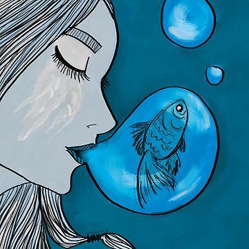 Meerjungfrau von rauschsinnig