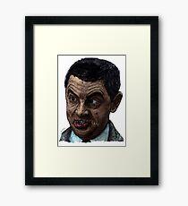 Bean (colour) Framed Print