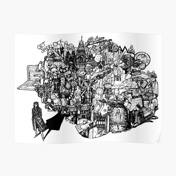 Sherlock World Poster