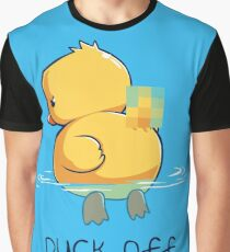 Duck off Graphic T-Shirt