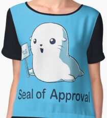 Seal of Approval Women's Chiffon Top