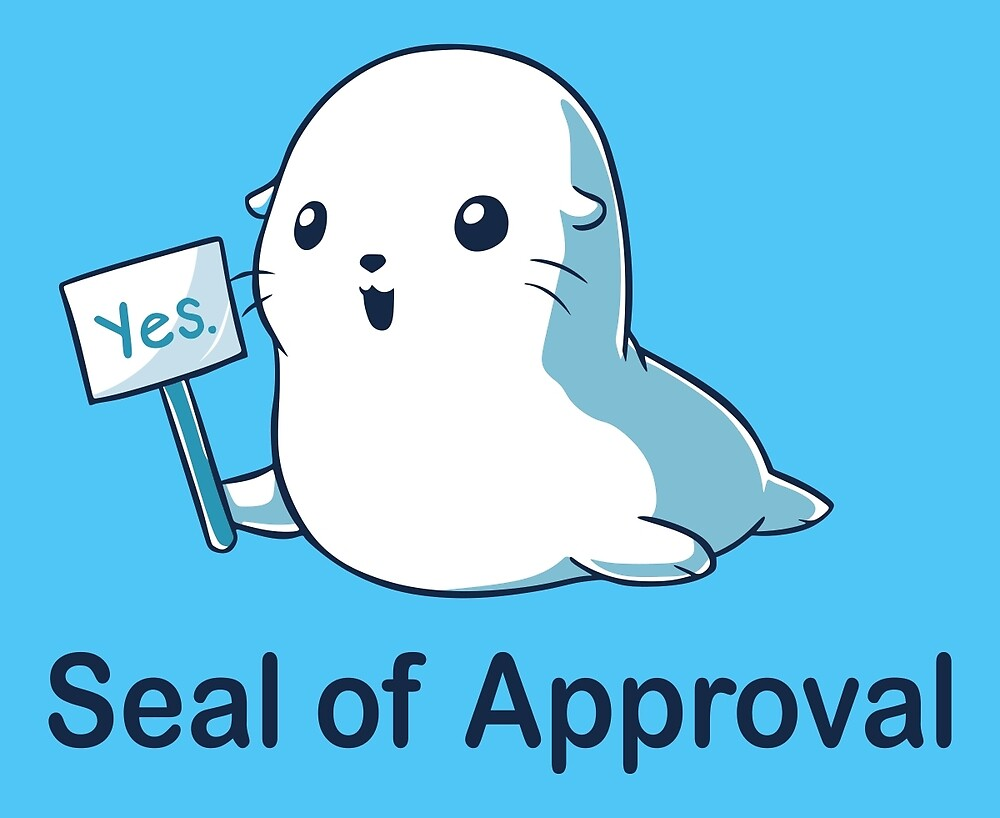 Seal of Approval by LnspLration