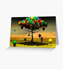 Árvore de Balões II. Greeting Card