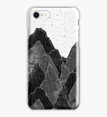 Dark moon mounts iPhone Case/Skin