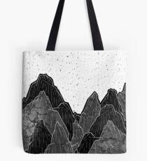 Dark moon mounts Tote Bag