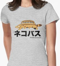 Catbus travel New Women's Fitted T-Shirt