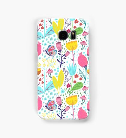 Funky Flowers Samsung Galaxy Case/Skin