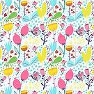 Funky Flowers by Tessa  Rath