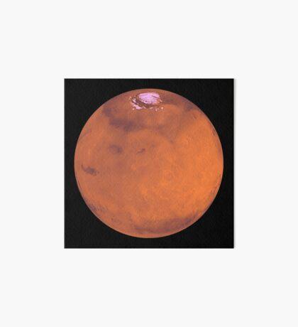 Planet Mars Galeriedruck