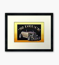1932 Ford 'Deuce' Roadster Framed Print