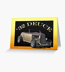 1932 Ford 'Deuce' Roadster Greeting Card