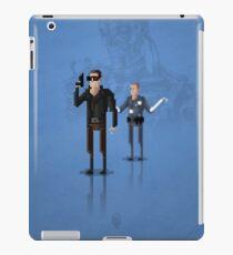 8-Bit TV Terminator iPad Case/Skin