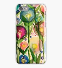 Whimsy bubble garden iPhone Case/Skin
