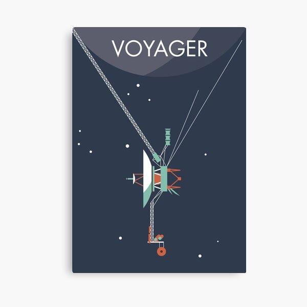 Voyager program space probe Canvas Print