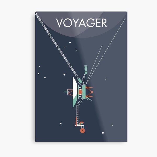 Voyager program space probe Metal Print