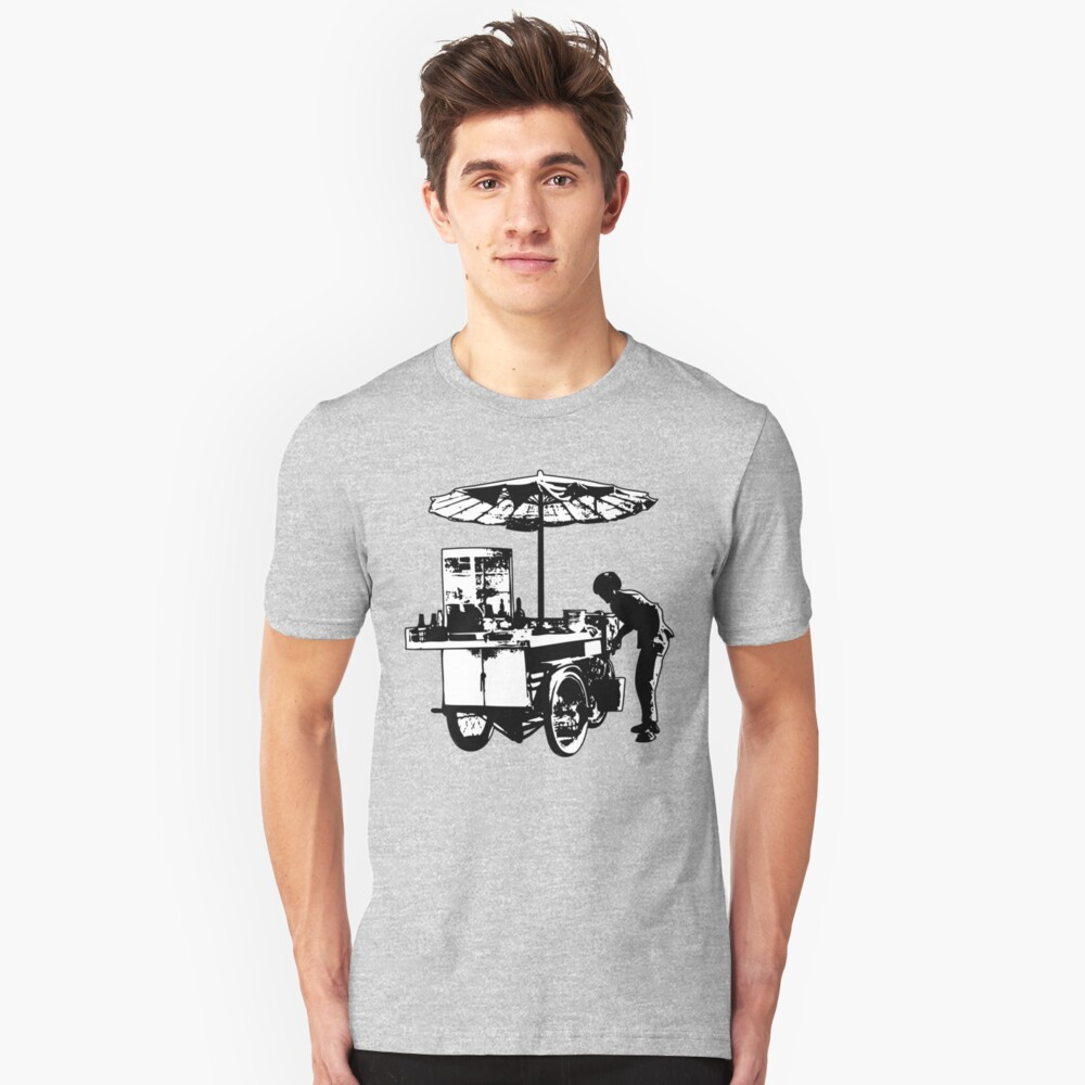 Lunch on Wheels Unisex T-Shirt Front