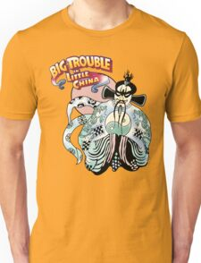 Big Trouble In Little China & Lo Pan HD White Unisex T-Shirt