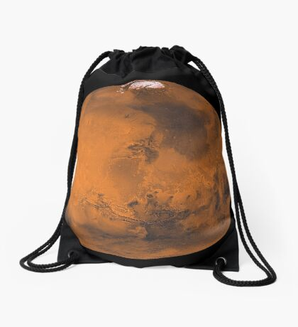 Globale Farbansicht des Mars. Turnbeutel