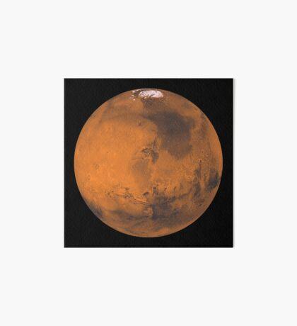 Globale Farbansicht des Mars. Galeriedruck