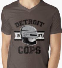 Cops team Men's V-Neck T-Shirt